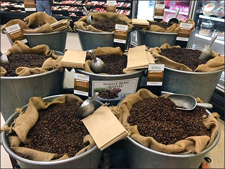 Kings Whole Bean Coffee By The Bucket Main