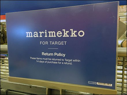 Marimekko Return Policy