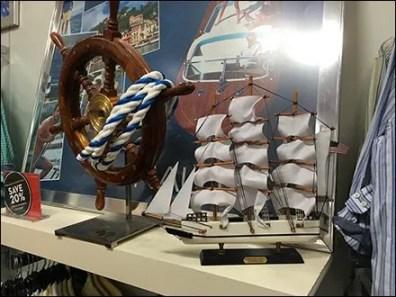 Nautica Nautical Visual Merchandising Props 1
