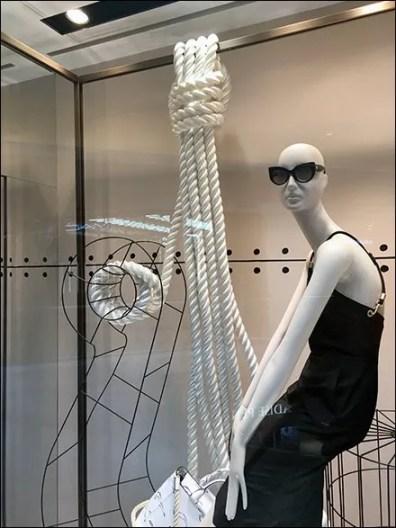 Nautical Knot Ties in Window Dressing 1
