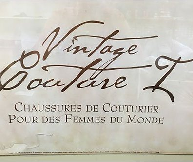 Rago Bros Shoe Vintage Couture Logo