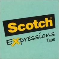Scotch® Expressions Tape Logo Aux
