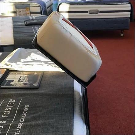 Sleeps DreamFit Footboard Display 1