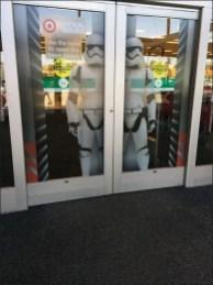 Star Wars Trooper Door Cling Display 1