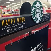 Starbucks Happy Hour Mounts Are Paper Clips