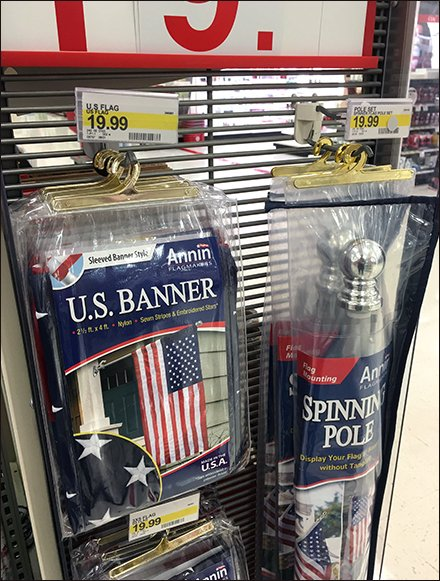 US Flag Pole & Banner PowerWing 3