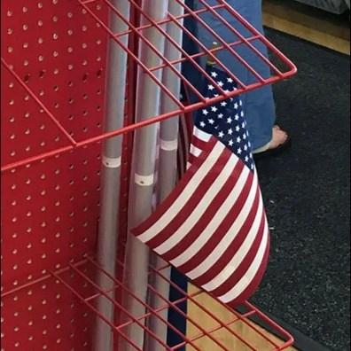 Valley Forge FreeStanding Flag Merchandiser 6