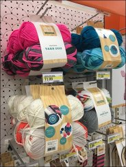 Yarn Skeins On Straight-Entry Scan Hooks 1