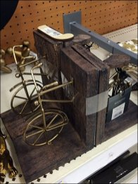 Bicycle Book Ends 2