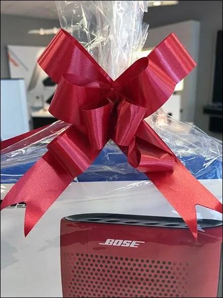 Bose Ribbon Matches Bose Speaker 3