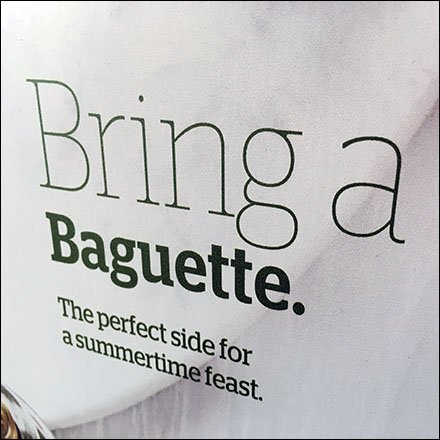 Bring a Baguette Summer Treat Feature