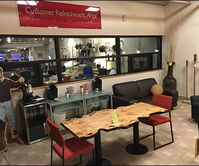 Dane Decor Customer Refreshment Area 4