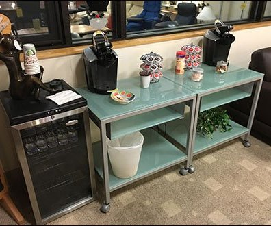 Dane Decor Customer Refreshment Area 6