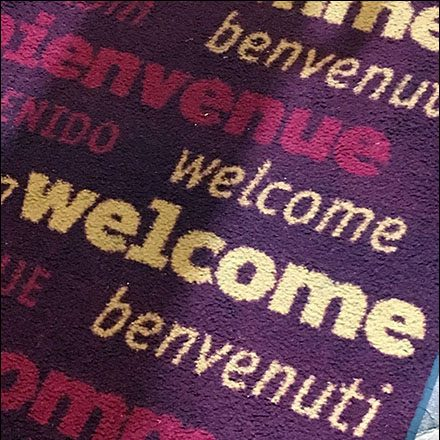 Welcome Store Fixtures - Dane Decor Multi-Lingual Welcome-To-The-Store
