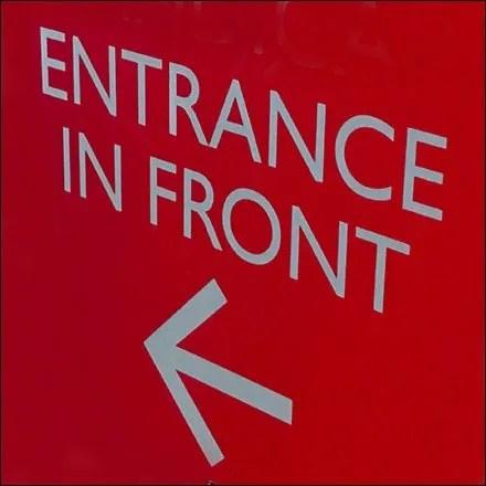 Dane Decore Entrance in Front Feature