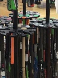 Branded Baseball Bat Merchandiser by Easton