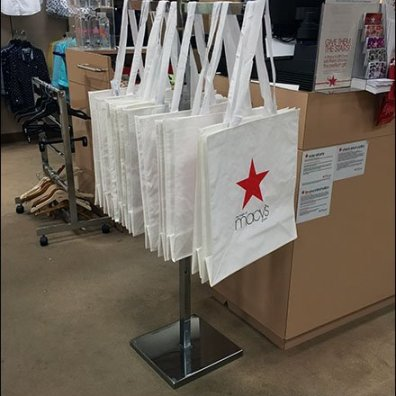 Macy's Brands Tyvek and Cotton Shopping Bags