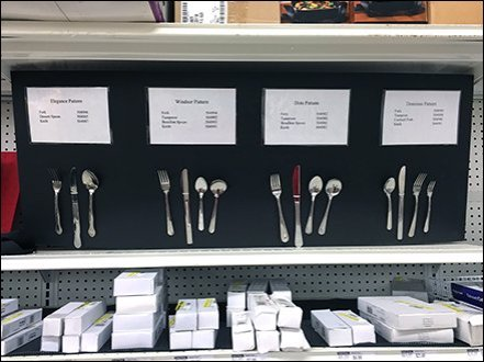 Main Source Cutlery Table Setting Display 1