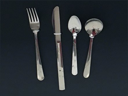Main Source Cutlery Table Setting Display 3