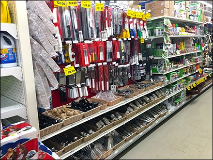 Maine Source Cooking Utensil Aisle 1