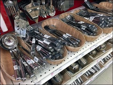 Maines Source Cooking Utensil Aisle Upgraded To Wicker