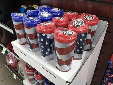 Patriotic Mug Corrugated POP Main