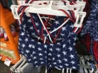 Patriotic Swimwear Merchandising Array 3
