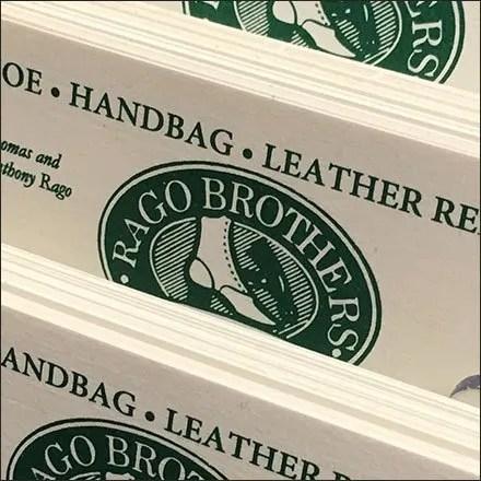 Rago Bros Business Card Store Fixtures
