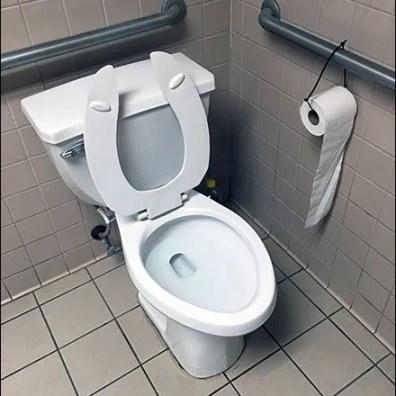 Restroom Toilet Paper Zip Tie 1