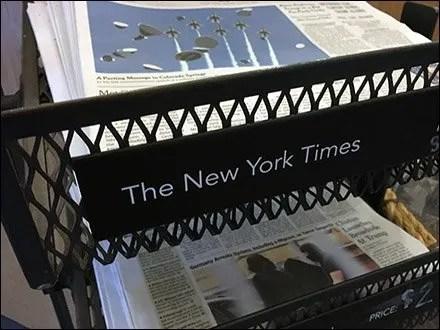 StarBucks Top-Dog Newspaper Rack Display