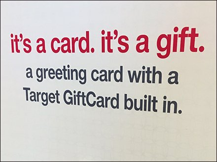Target Gift Card Straight Entry Hook Main