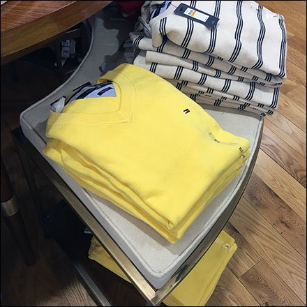 Tommy Hilfiger Tiered T-Shirt Table