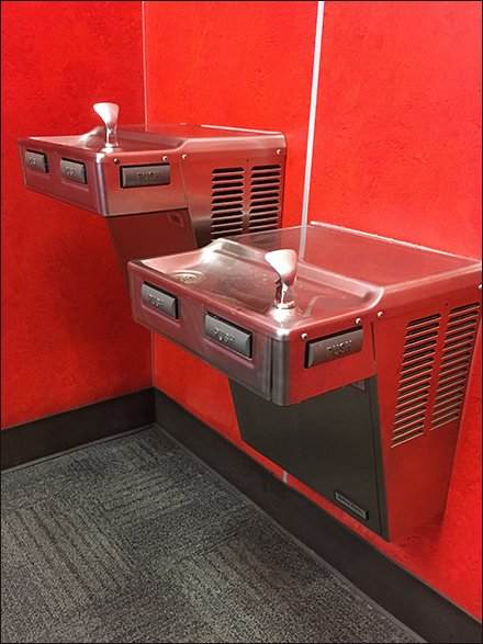Twin Traditional Water Fountains 2