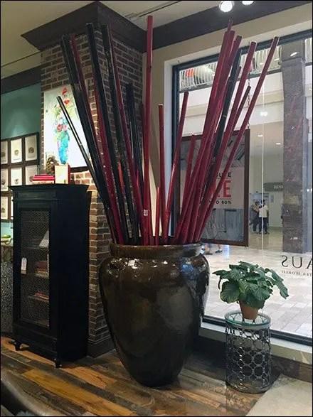 Arhaus Gint Pot and Sticks Propping 1