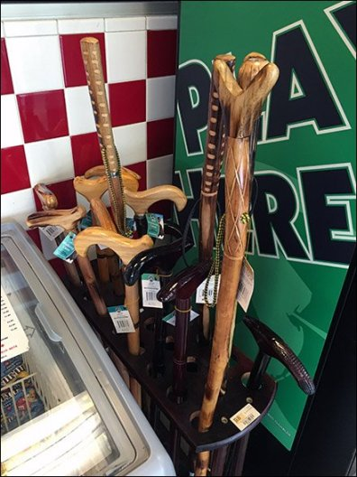 Cane and Walking Stick Display 3