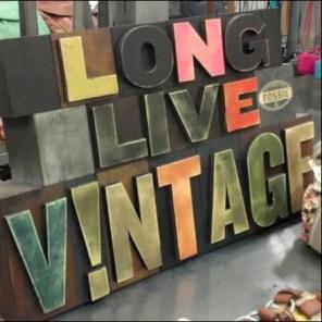 Vintage and Antique Store Fixtures
