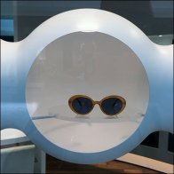 Futuristic Sunglass Niches Ceiling-Hung