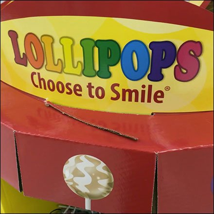 Gourmet Lollipop Bulk Bin Feature