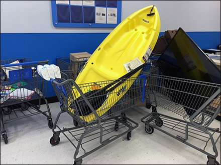 Kayak Shopping Cart Main