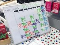 Michaels July Crafts Calendar 1