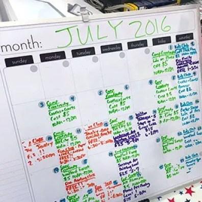 Michaels July Crafts Calendar 2