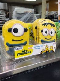 Minion Cookie Mated Tray 1