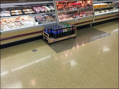 Pepsi Floor Creeper Display 1