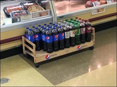 Pepsi Floor Creeper Display 2