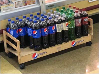 Pepsi Floor Creeper Display 3