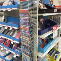 Back-To-School PowerWing Literature Rack for Grid