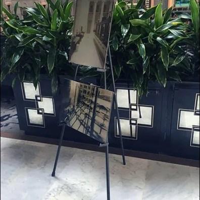 Ritz Carleton Lobby Art Easel 2