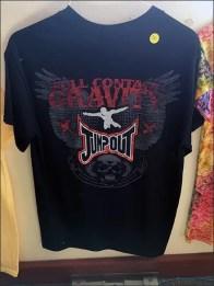 Skydiver T-Shirt Merchandising Clothes Hanger 1