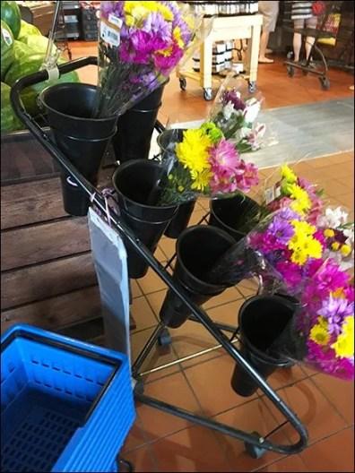 Wegmans Floral Quiver Cart 1