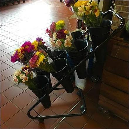 Wegmans Floral Quiver Cart Main